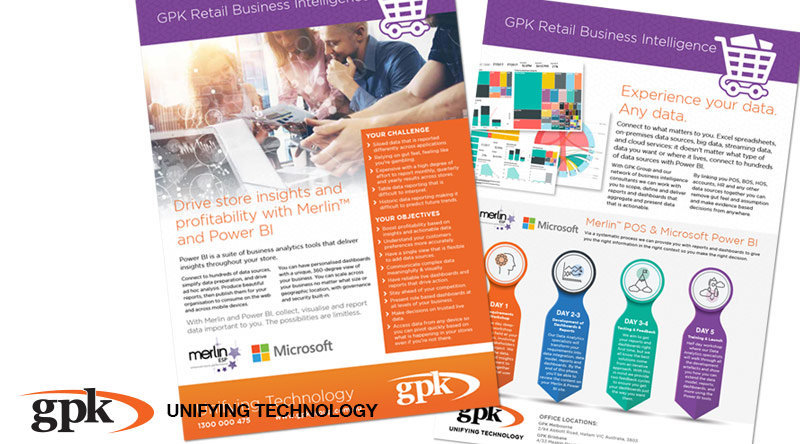 New GPK Retail Merlin & Power BI Product Brochure