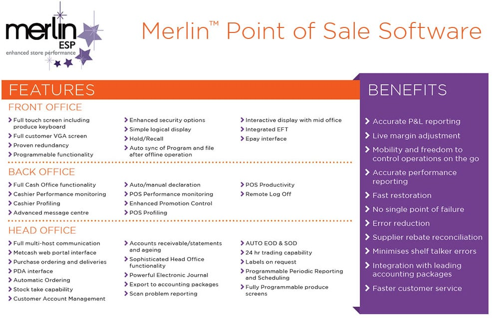 Merlin Point of Sale Software