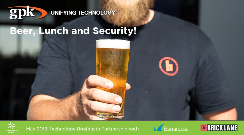 Beer, Lunch and Security!